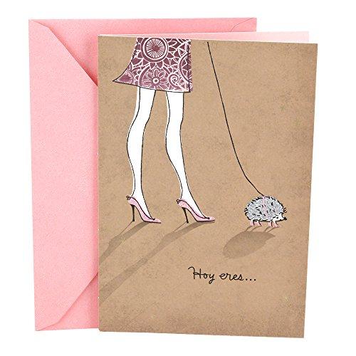 - Hallmark Vida Spanish Birthday Greeting Card (Hedgehog)
