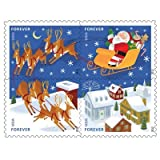 Holiday Forever USPS Postage Stamps - 40 stamps - 2 sheets