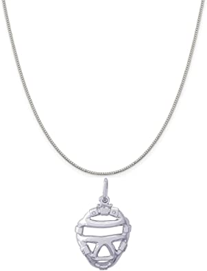 18 2 Extender Sterling Silver Antiqued Bat Charm on an Adjustable Chain Necklace