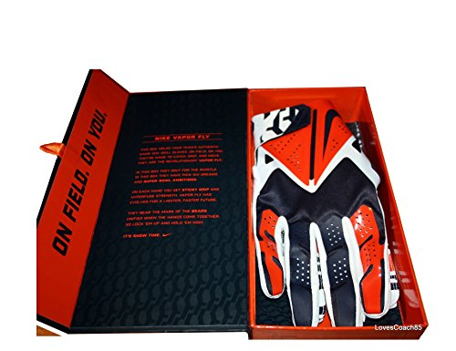Guanti Nike Vapor Fly Chicago Bears Team Authentic Series TAGLIA MED
