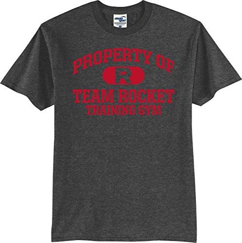 35552ad5 Utopia Sport Pokemon Go Fans Property of Team Rocket Training Gym T-Shirt (S