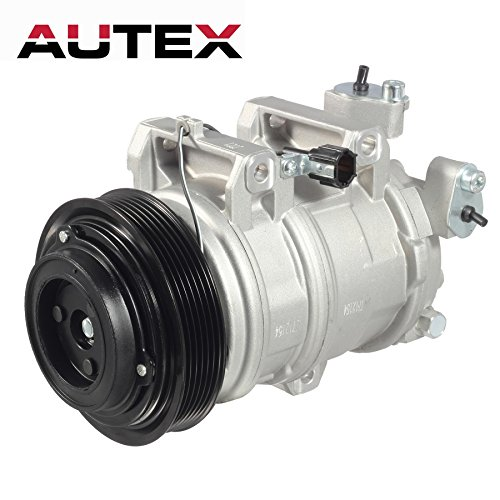 AUTEX AC Compressor and A/C Clutch CO 10778JC 926008J01A Replacement for Nissan Altima 2002 2003 2004 2005 2006 - Compressor Altima