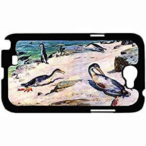 New Style Customized Back For Case HTC One M8 Cover Hardshell Case, Back Cover Design Hesperornis Personalized Unique For Case HTC One M8 Cover