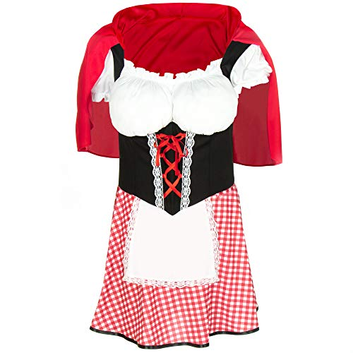 Burly Red Riding Hood Costume - Funny Adult Halloween Costumes for Men - http://coolthings.us