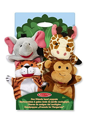 Melissa & Doug Safari Sidekicks Hand Puppets