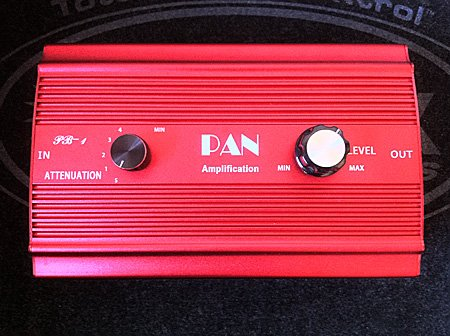 KLD NEW PB-1/ATP 100 100 WATT ATTENUATOR SAVE YOUR CRANKED TUBE TONE RED BURST CASE COLOR!