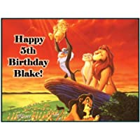"Single Source Party Supply - Lion King Edible Icing Image #4-8.0"" x 10.5"""