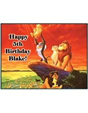 """Single Source Party Supply - Lion King Edible Icing Image #4-8.0"""" x 10.5"""""""