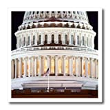 3dRose Danita Delimont - Washington DC - Close up of the US Capitol buildings dome, Washington DC - Iron on Heat Transfers