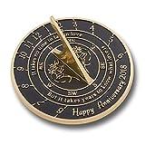 Handmade Wedding Anniversary Sundial Gift