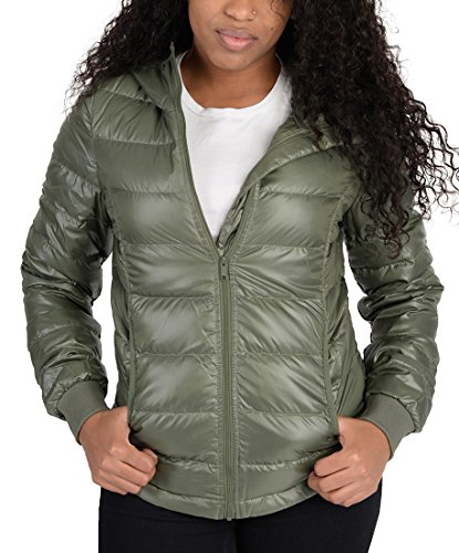 Lowdown Jacket (Adidas Womens Utility Low Down Jacket Olive Green)