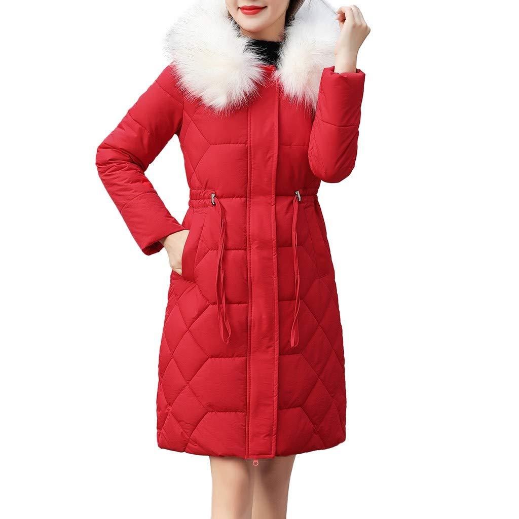 Giacche Donna Lungo Piumino Cappotto Bianco Elegante Invernale Lana Nero Parka Pelliccia Sintetica Cappuccio Giubbotto Donna Giacca Classico Outwear Cappotto Imbottito Sintetico Pelliccia Cappuccio