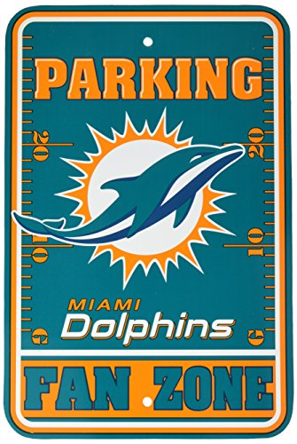 NFL Miami Dolphins Fan Zone Parking Sign