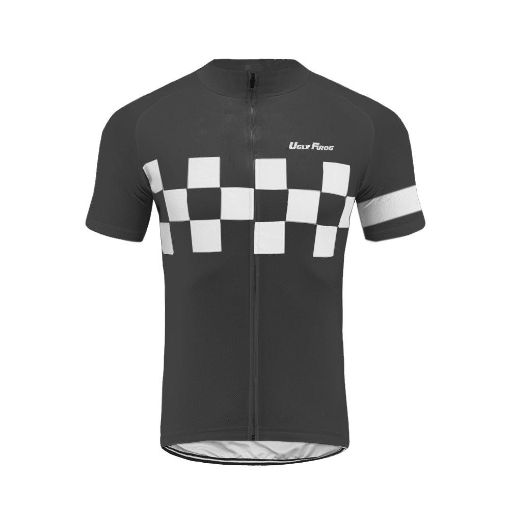 Uglyfrog HDX13 2018 Herren Schlie/ßen H/ülsen Zyklus Jersey Fahrrad Hemd Fahrrad Top Radfahren Radsport Kurzarm Radtrikot Fahrradtrikot