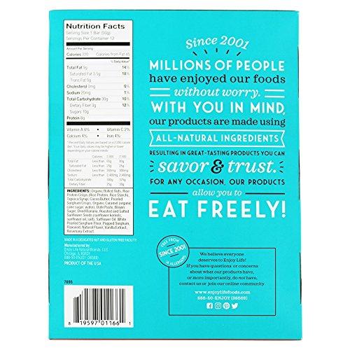 Enjoy Life Foods - Crispy Grain & Seed Bars Banana Caramel - 12 Bars