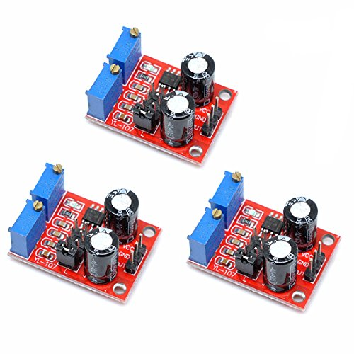 (Willwin 3pcs NE555 Pulse Frequency Duty Cycle Adjustable Module Square Wave Signal Generator )