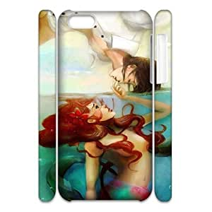 Lmf DIY phone caseFancy girls cute tpu back cover/case/shell for iphone 6 plus inch(The Little Mermaid)Lmf DIY phone case1