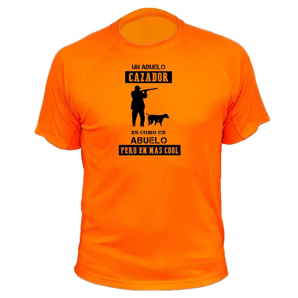 Camiseta de caza, Abuelo Cazador - Ideas regalos AtooDog