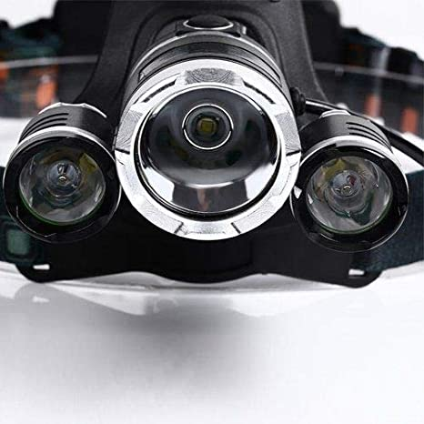 2R5 LED Stirnlampe Kopflampe Lampe Stirnleuchte Fahrrad 18000LM 3x XML T6