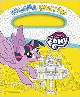 My Little Pony Boyama çantam Kolektif Amazoncomtr