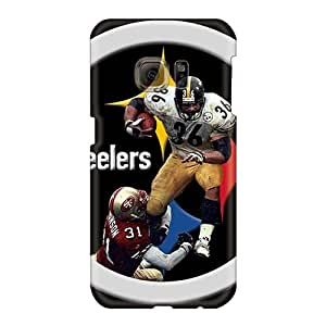 Protective Cell-phone Hard Cover For Samsung Galaxy S6 With Custom Attractive Pittsburgh Steelers Pictures JacquieWasylnuk