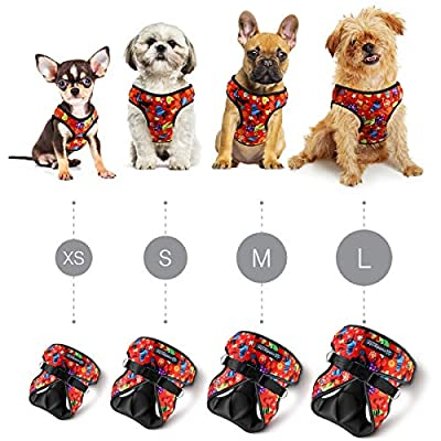 Dog harnesses for small dogs by Comfort Fit Pets. Our small dog harness vest has padded interior and exterior cushioning ensuring your dog is snug and comfortable. Get outdoors with your dog in our lightweight breathable harness now!