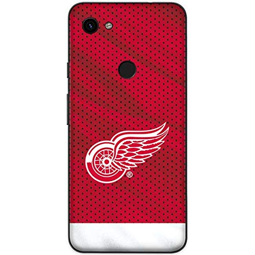 Skinit Detroit Red Wings Google Pixel 3a XL Skin - Officially Licensed NHL Phone Decal - Ultra Thin, Lightweight Vinyl Decal Protection