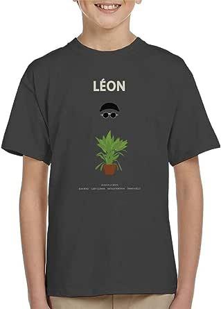 Leon Movie Silhouette Kid's T-Shirt