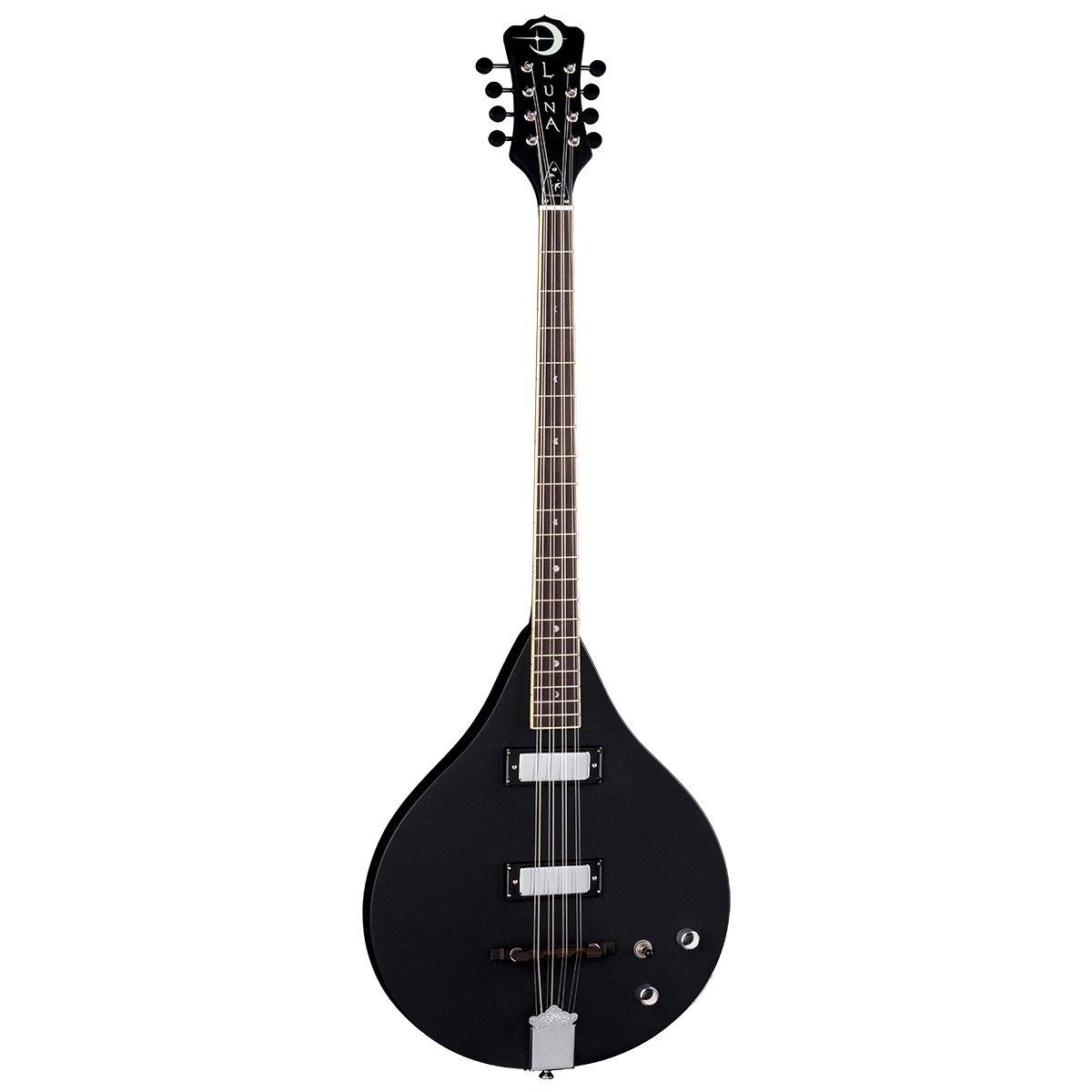 Luna Guitars Moonbird Series Solid 8-String Electric Bouzouki - Satin Black