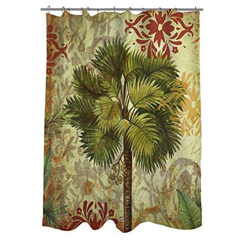 Thumbprintz Palms Pattern IV Shower Curtain