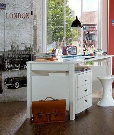 Wimex 318416 escritorio Filou, B/H/T: 140/72/70, Alpin Color ...