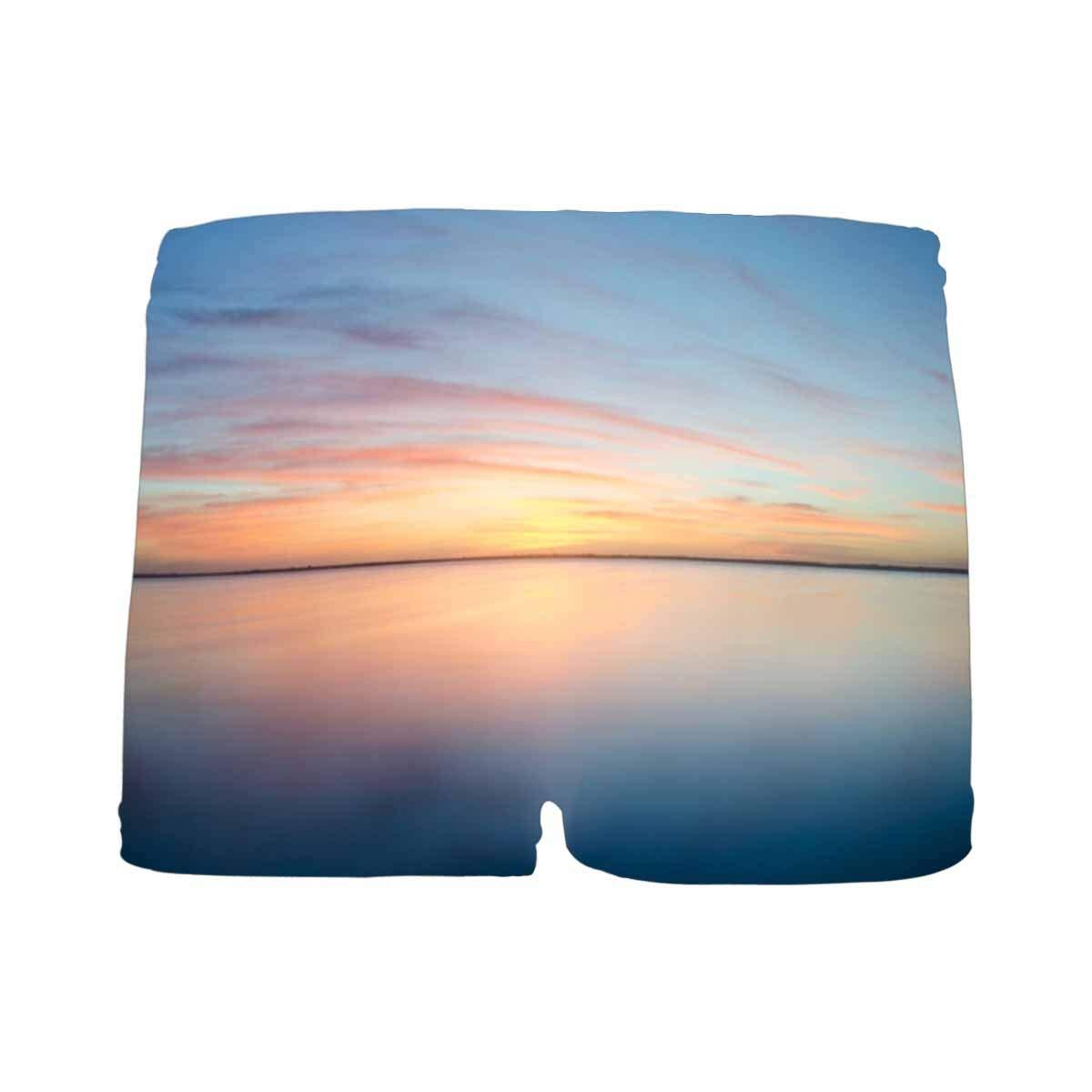INTERESTPRINT Boys Sunset Horizon ComfortSoft Printed Boxer Briefs 5T-2XL