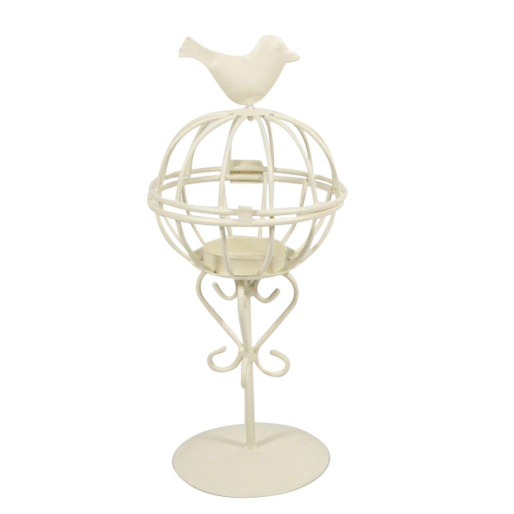 Bird Cage Iron Candlestick Innovative Wedding Home Furnishing Decoration Windproof Light Artware