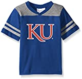 NCAA Kansas Jayhawks Toddler Boys Football Shirt, Royal, 2