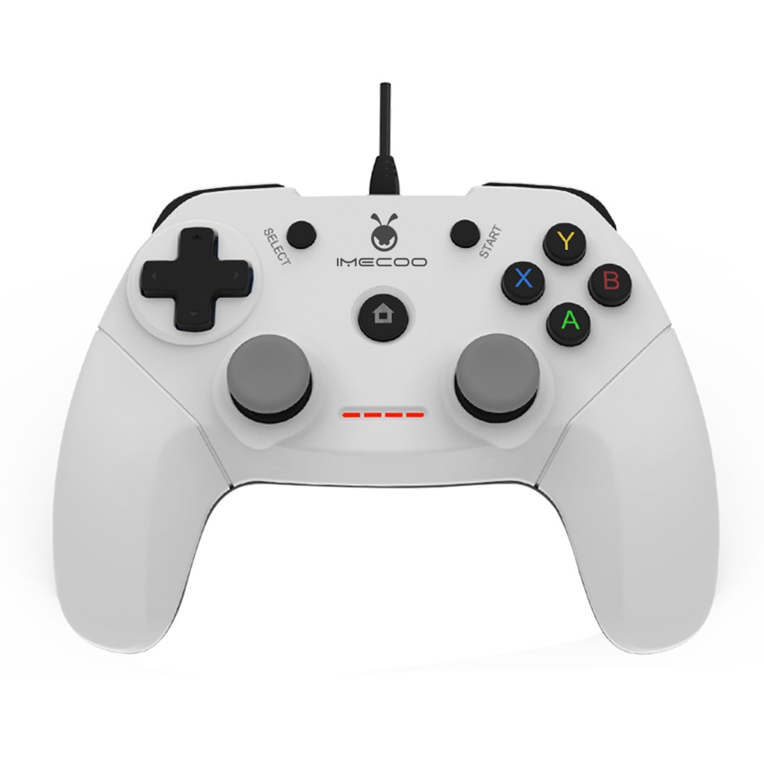 good IMECOO Wired Gamepad Gaming Controller with Bracket for PS3 PC ...