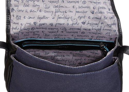 ESPRIT Esprit Tasche - Bolso de hombro de poliéster mujer azul - Blau (Navy 410)
