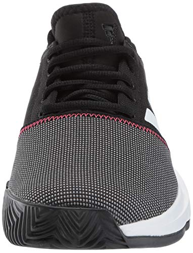 adidas Men's Gamecourt, Black/White/Shock red 8 M US by adidas (Image #4)