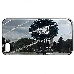 Alba Iulia - For Apple Iphone 5C Case Cover (Modern Series, Watercolor style, Black)