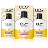 Olay Complete Lotion Moisturizer with SPF 15 Normal, 6.0 Fluid Ounce, 3 Count
