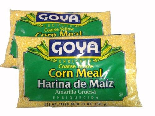 Corn Meal Coarse GOYA Harina de Maiz Gruesa (2 Pack) 12oz