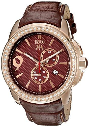 Jivago Men's JV1531 Gliese Analog Display Swiss Quartz Brown Watch