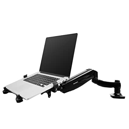 Merveilleux FLEXIMOUNTS 2 In 1 Monitor Arm Laptop Mount Stand Swivel Gas Spring LCD Arm