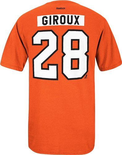 45f105902 Amazon.com   Reebok Philadelphia Flyers Claude Giroux Orange Tee ...