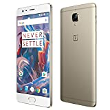 OnePlus 3 A3003 Dual 4G 64GB Cell Phone, Gold - International Version, No Warranty