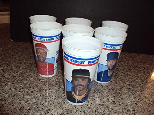(7) - 1994 7-11 Icee Baseball Collectors Series Cups- Uncirculated
