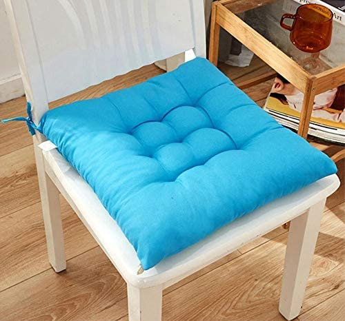 Chair Pads Seat Cushion with Ties,Outdoor Indoor Soft Thicken Comfy Seat Pads Cushion Pillow,Dining Room Kitchen Chair Cushions for Home Office Car Patio Furniture Garden Decoration