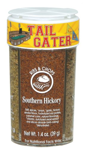 Dean Jacobs Tailgater Seasonings (Lemon Pepper & Herbs, Southern Hickory, Chipotle Blend, Char Grill), 5.3-Ounce Jar (Pack of 4)