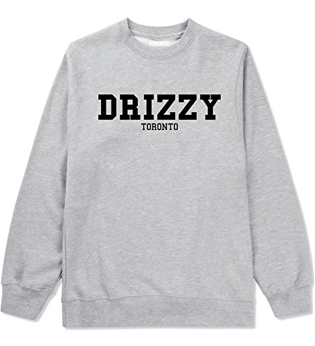 Kings Of NY Drizzy Toronto Parody Fashion Style Rap Crewneck Sweatshirt Medium - Rap Drake Style