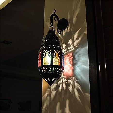 SDKIR-Applique murale en fer forgé Maroc lanterne murale Inn ...