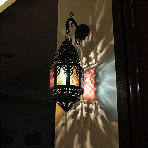 Xxn Applique Murale En Fer Forge Maroc Lanterne Murale Inn Bed